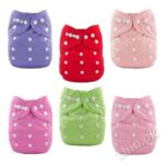 Adjustable Diaper with Nappy Size M